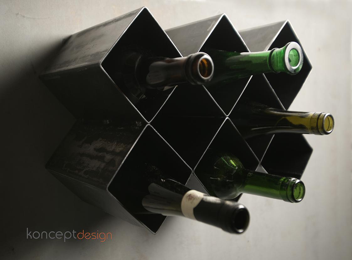 Stalowa p ka na wino koncept design for Koncept design